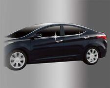 Window Accent Molding Chrome Garnish A855 Silver for Hyundai ELANTRA 2011 ~ 2016