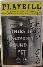 Jake Gyllenhaal+ Signed IF THERE IS I HAVEN'T FOUND IT YET Off-Broadway Playbill