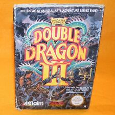 VINTAGE 1990 NINTENDO ENTERTAINMENT SYSTEM NES DOUBLE DRAGON III GAME BOXED PAL