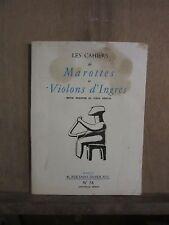 Les Cahiers de Marottes et Violons d'Ingres Revue réservée au corps médical/n°38
