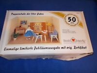 Living room furniture set by Bodo Hennig, 8 piece - 1:12 scale, new