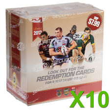 NRL 2012 RUGBY LEAGUE - Limited Edition Trading Cards Box ~ Sealed Case (10ct)