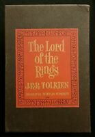 Tolkien Lord of the Rings Box Set Slipcase Houghton Mifflin 1967 HC 2nd Edition