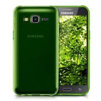 Coque Etui Housse Silicone Transparente Vert Samsung Galaxy A3 SM-A300F A3 DUOS