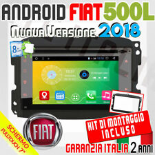"AUTORADIO 7"" Android 6.0  Full Touch FIAT 500L Mp3,Bluetooth,MP4 DAB+ DVD CD -"