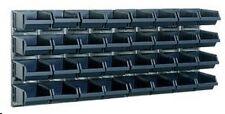 Raaco Bin Wall Panel With 32 Bins 139182