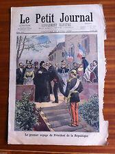 ?Le petit Journal 23/4/1899; Le premier voyage du président de la république