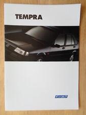 FIAT TEMPRA orig 1994 UK Mkt sales brochure