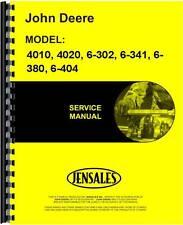 John Deere 4010 4020 6-302 6-341 Engine Service Manual (Jd-S-Sm2039)