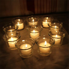 Beautiful Clear Glass Light Votive Candle Holders Wedding Gifts F9U7 Party G4K8