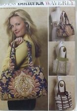 BUTTERICK 5438 WAVERLY TOTE BAG AND MOBILE CASE PATTERN 4 STYLES  NEW UNCUT
