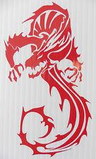 Dragon demon devil monster stickers/car/van/bumper/window/decal code 5260 RED