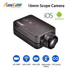 RunCam HD 1080P WiFi FPV Camera Recorder Scope Video 16mm 180° 4MP For Airsoft