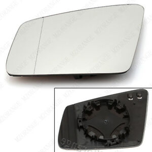 Left Side Rearview Mirror Light Glass Heated For Mercedes Benz W204 W212 W221 LH