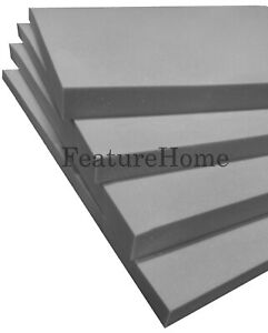 Top Selling Grey Upholstery Foam - Custom Sizes Available - MESSAGE TO SELLER