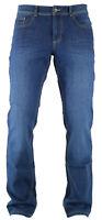 HATTRIC HARDY mid blue used look Herren Five Pocket Denim Jeans 688915 9633.88