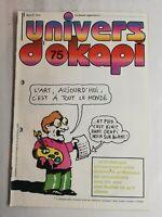 N15 Rivista Universo Okapi N° 75 Arte, Oggi, C Con Tutti Il Monde