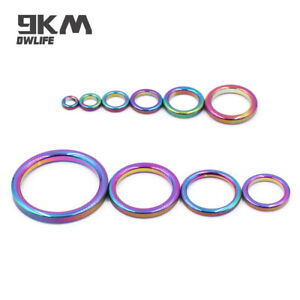 Fishing Rod Guide Ring 5~20Pc Ceramic Guide Ring for Replacement Repair 6mm~47mm