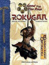 ROKUGAN - Legend of the Five Rings  L5R HC Oriental Adventures d20 D&D Rpg Book