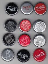 Chapas Coca Cola diferentes. Bottle cap (descuento en envios) normal zero light