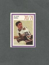 1970-71 Esso Hockey Stamp Cliff Koroll Chicago Black Hawks