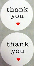 30 Thank You Labels, Wedding Favour Thank you Stickers, Envelope Seals