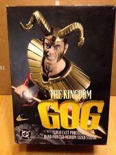 Dc Direct The Kingdom Gog Cold Cast Porcelain Median Size Statue #1652/3000