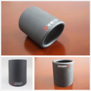 89mm Matte Color Real Carbon Fiber Car Exhaust Pipe Cover Tip Accessories