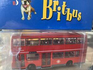 RARE BRITBUS 1/76 no. R501 LONDON BUSES 73 STAMFORD HILL OLYMPIAN D/DECK BUS