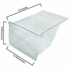 NEW ORIGINAL Frigidaire Refrigerator Crisper Drawer, Clear- 240337103, 240337102