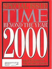 1992 (Fall) Time Magazine, Special Edition, Beyond the Year 2000~ What to Expect