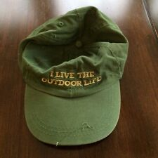Vintage OUTDOOR LIFE Hat Cap Strapback, I Live The Outdoor Life