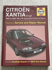 NEW - Haynes Manual 3082 - Citroen Xantia, 1993 to 2001, petrol & diesel