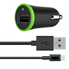 Car Charger with Micro USB Sync Cable 2.1A for iPhone , iPad , iPod Smartphones