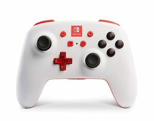 ✅ PowerA Enhanced Wireless Controller for Nintendo Switch - White/Red