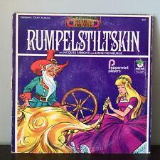 Rumpelstiltskin Vinyl Record from Peter Pan Records, Original Cast Album