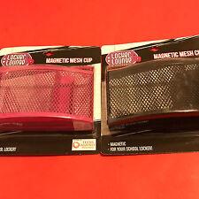 Locker Lounge Magnetic Mesh Cup, available black, pink or purple- NIB (G)