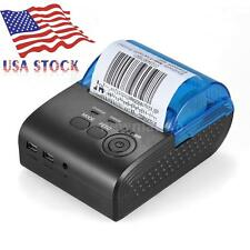 58mm Bluetooth Wireless Direct Thermal Receipt Printer f/iOS Android Winows N3T0