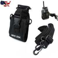 MSC-20A Universal Radio Case Pouch Bag For Wouxun Puxing Motorola Kenwood