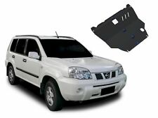 ENGINE + GEARBOX SKID PLATE UNDERTRAY BLACK STEEL FOR NISSAN X-TRAIL T30 2001-07