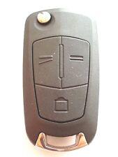 Reemplazo 3 Botón Voltear Llave Carcasa Para Opel Opel Vectra Signum Zafira Remoto
