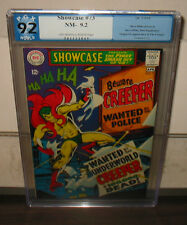 "1968 DC ""SHOWCASE"" #73    PGX GRADED 9.2/NM-   OW-W PAGES    FREE SHIPPING"