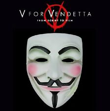 HOT SELL Halloween mask V For Vendetta mask original made of Resin Fashion NEW