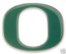 "Auto Emblem / Domed Letters  Univ. of Oregon ""O"" GREEN"