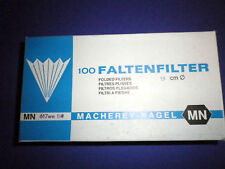100 Piece Folded Filter Ø 12 5/8in Filter MN617we 1/4 Mn 535032