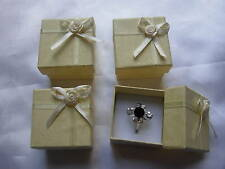 24 blue Jewellery Gifts Boxes 4cm x 4cm x 3cm