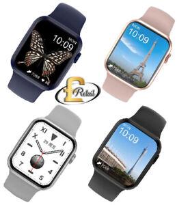 DT100 Smartwatch PK W46 Men Women Bluetooth Call Custom Dynamic IP67 Waterproof