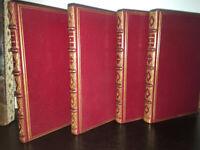 RARE LA BORDE Choix de Chansons - EO - 1773 - 4 volumes Maroquin - 100 gravures