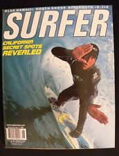 Surfer Magazine Uncirculated 2000 Vol.41 June Surfing Hawaii Surfer Longboard