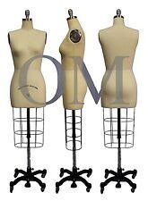 Professional Female Mannequin Dress Form, W/ Collapsible Shoulder Size 10 (cs 10